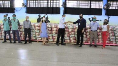 Foto de Covabra doa 19 toneladas de alimentos ao Fundo Social de Itatiba