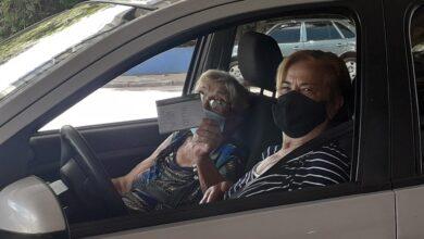 Foto de Drive thru – idosos a partir de 85 anos serão vacinados na sexta